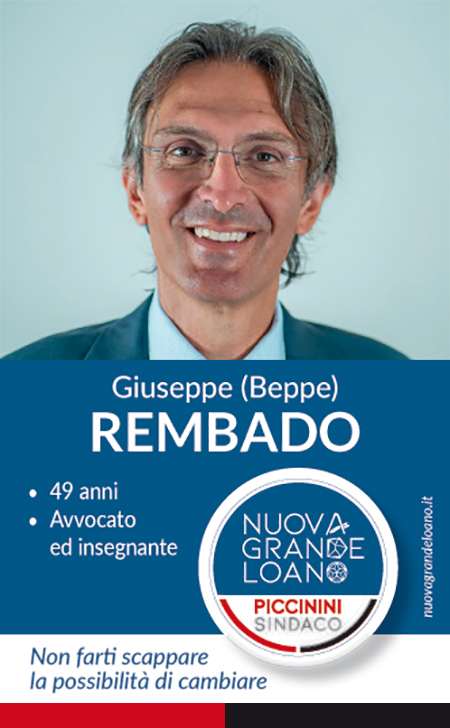 Nuova Grande Loano - Giuseppe Beppe Rembado
